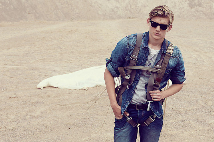 Denim-Clad Adventurer Editorials