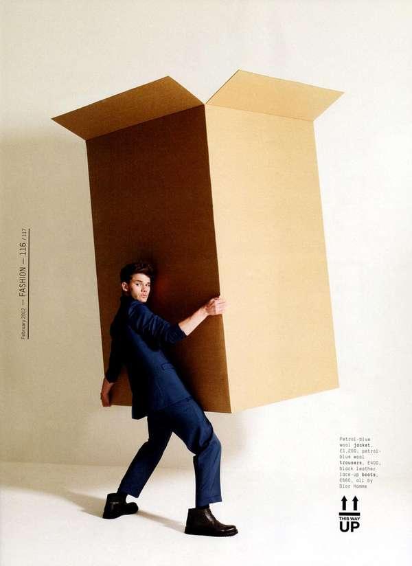 Boxy Menswear Captures