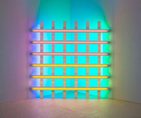 Dan Flavin Fluorescent Light Fixture