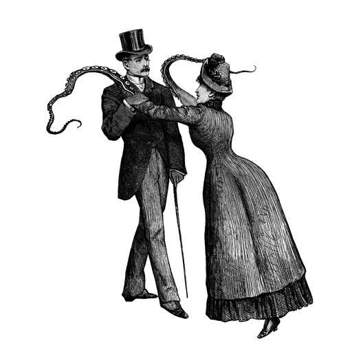 Tentacled Victorian Illustrations