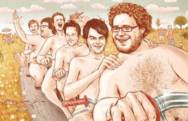 Comical Celebrity Caricatures