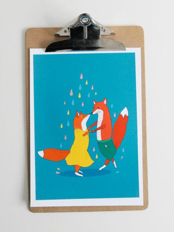 Animal Romance Illustrations