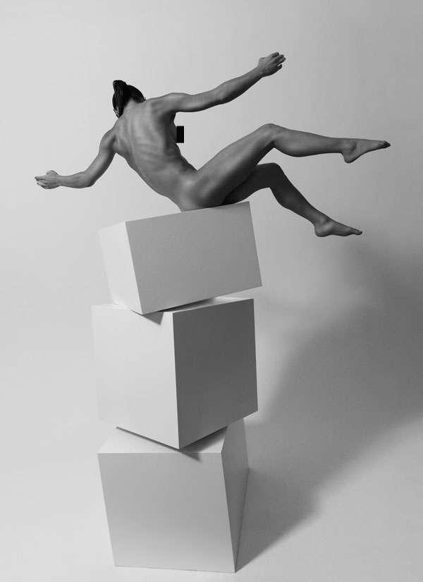 Precarious Nudetography