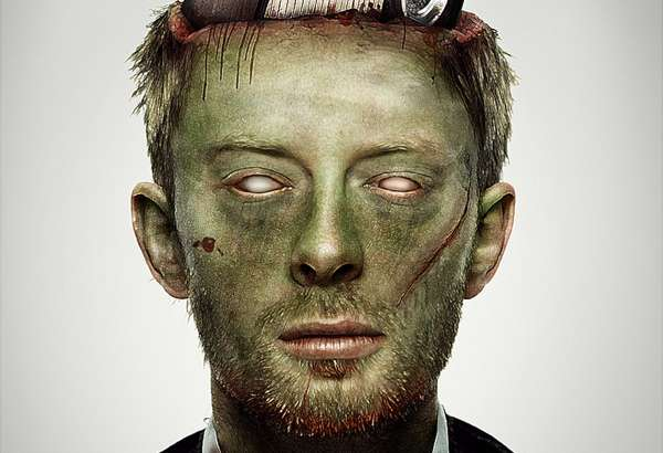 Zombified Celebrity Mugshots