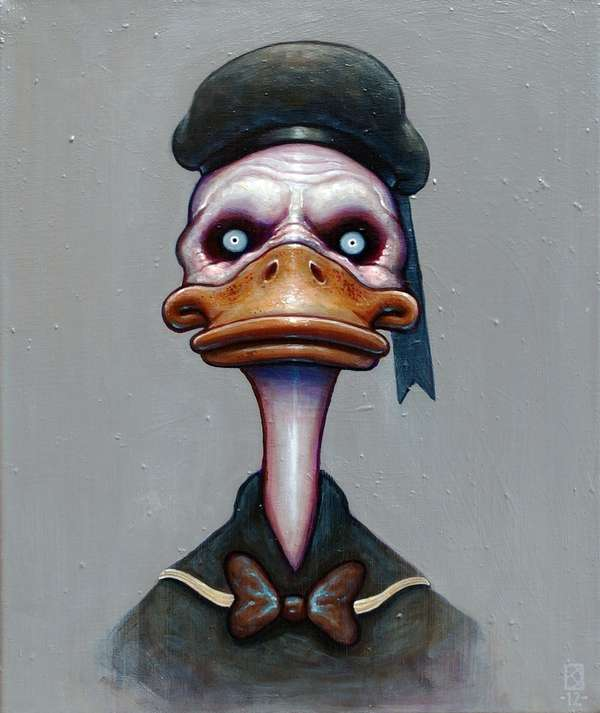 Frightful Disney Character Depictions