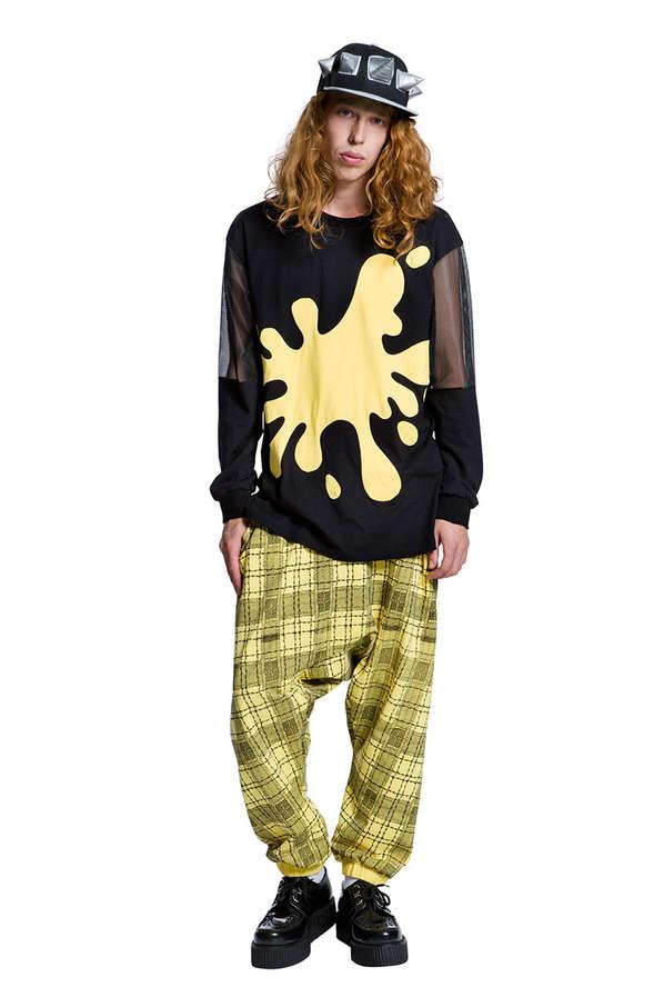 Grungy Pyjama Party Catalogs