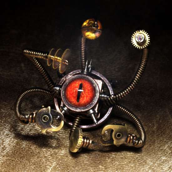 Miniature Steampunk Sculptures