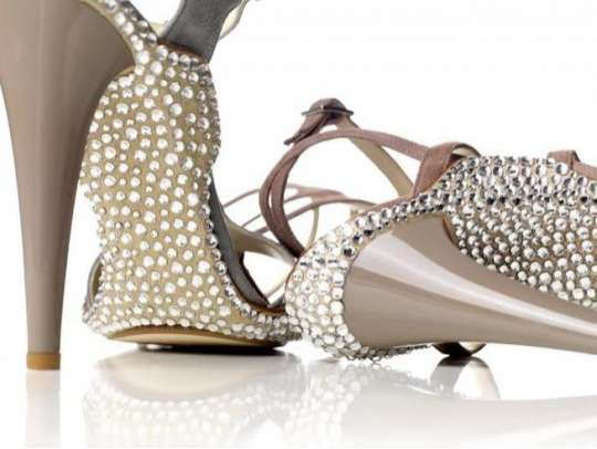 bedazzled shoes opinions please | Weddingbee Photo Gallery