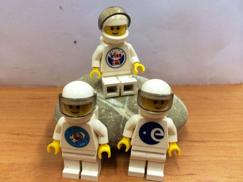 Real-Life LEGO Astronauts