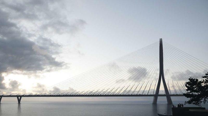 Asymmetrical River Bridges