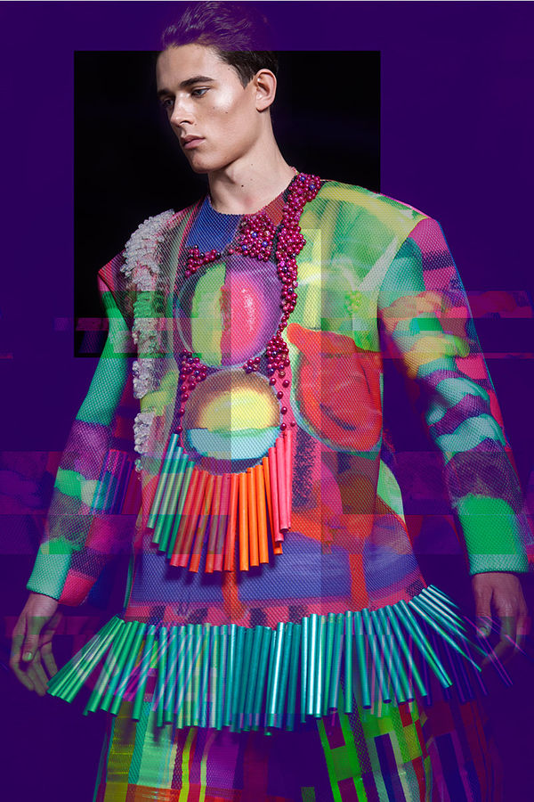 Chromatic Kaleidoscope Couture