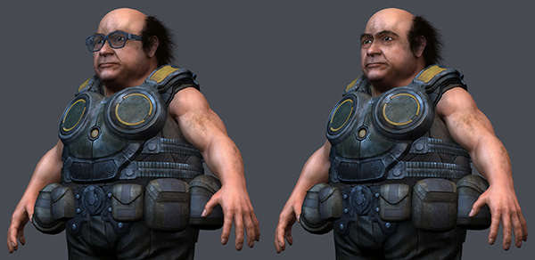 Militarized Actor 3D Models