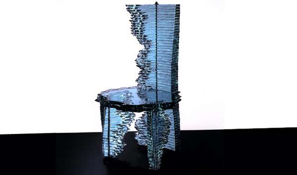Fractured Glass Furniture