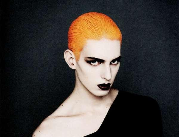 Cheetos-Hued Hair