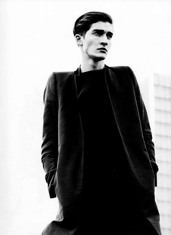 Stoic All-Black Editorials