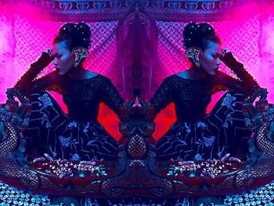Cosmic Kaleidoscope Portraits