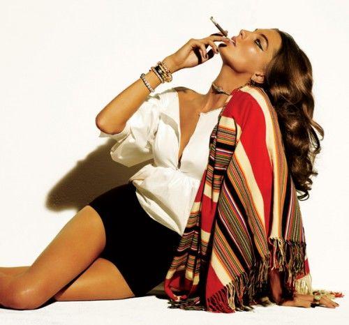 Cigar-Smoking Cowgirls