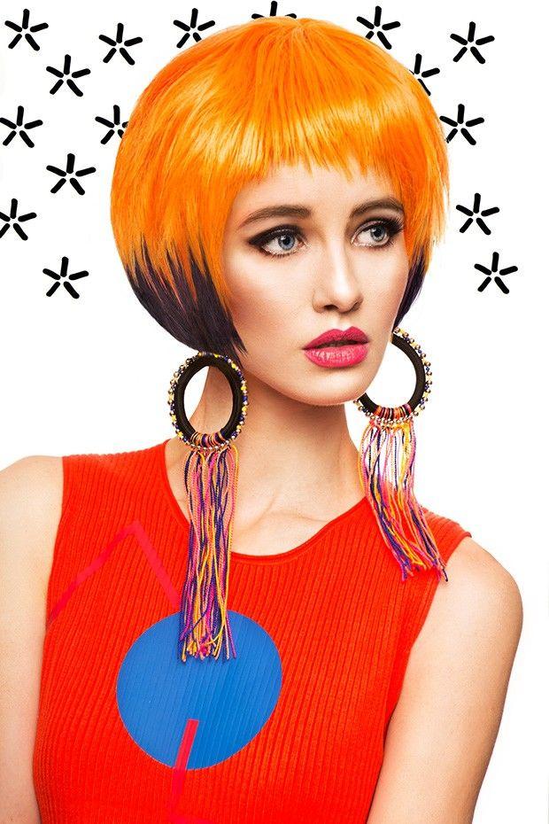 Daring Hair Style Editorials