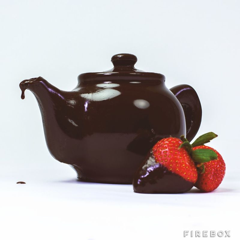 Edible Chocolate Teapots