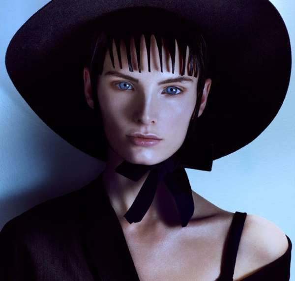 Dark Beetlejuice-Inspired Editorials