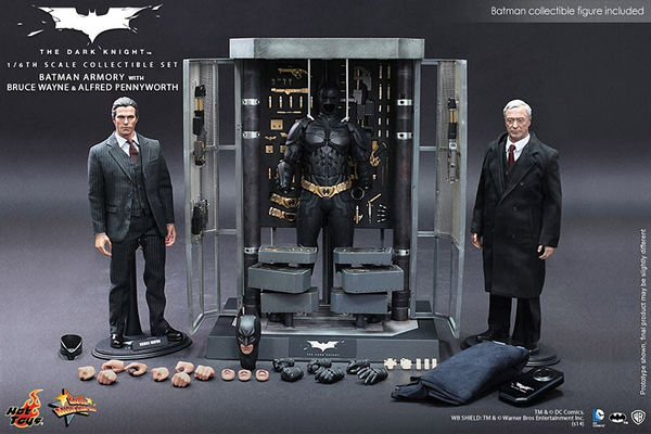 Collectible Superhero Armory Sets