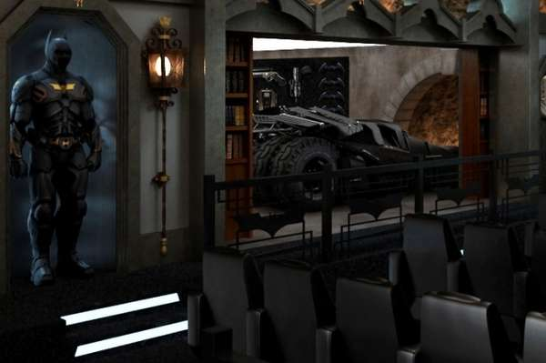2 Million Superhero Cinemas Dark Knight Themed Home Theatre