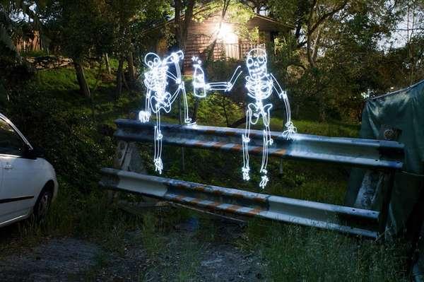 Surreal Skeletal Captures