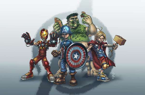 Child Superhero Ensembles
