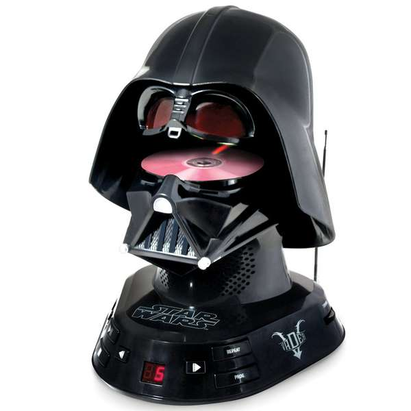 Darth Vader CD Player