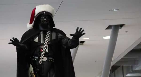 Festive Dark Side Flashmobs