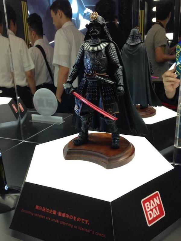 Galactic Samurai Figurines