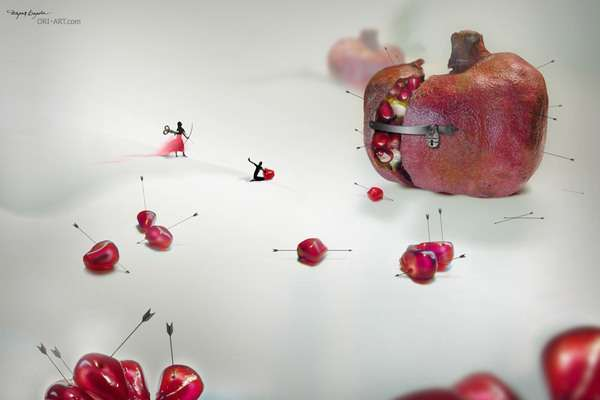 Immaculate Miniature Worlds