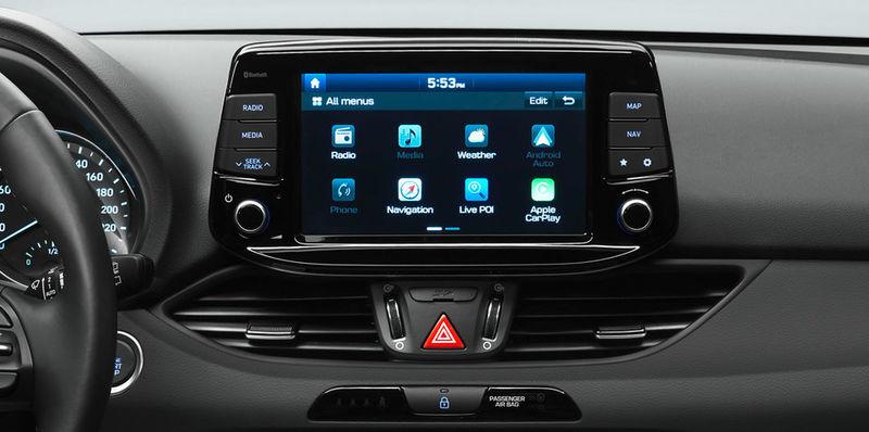 Ergonomic Vehicle Interior Displays