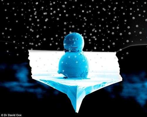 Microscopic Snowmen
