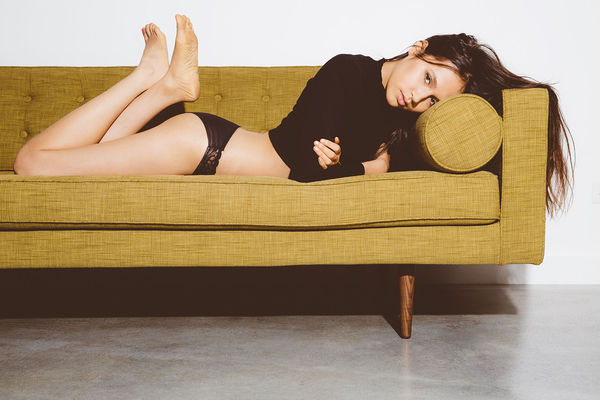Sanguinely Lounging Editorials