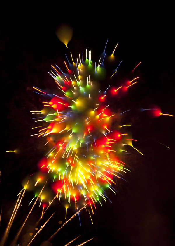 David Johnson's Long Exposure Fireworks