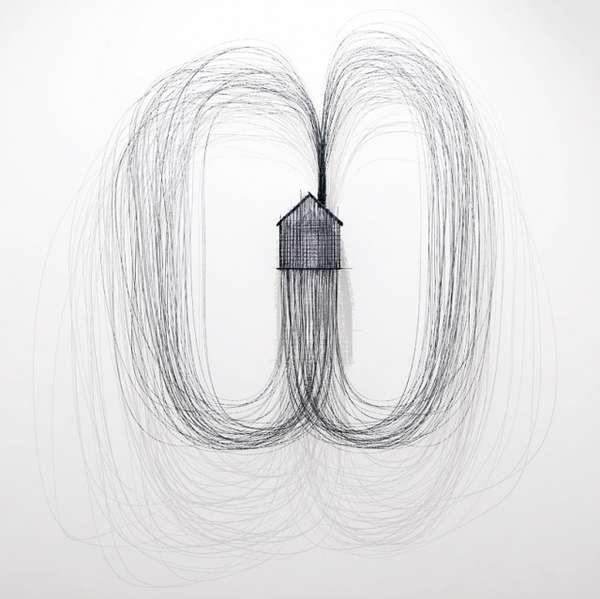 Sketchy Wire Sculptures