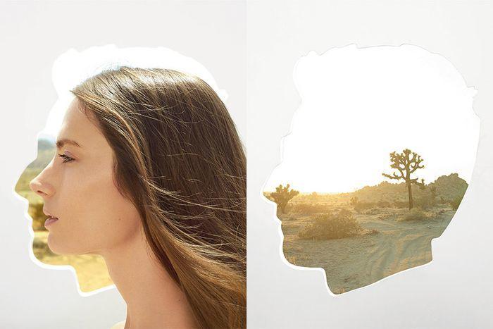 Superimposed Fashion Editorials