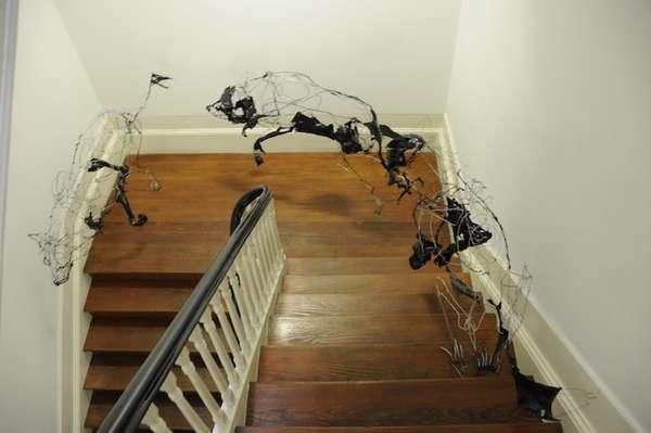 Wiry Wolf Sculptures