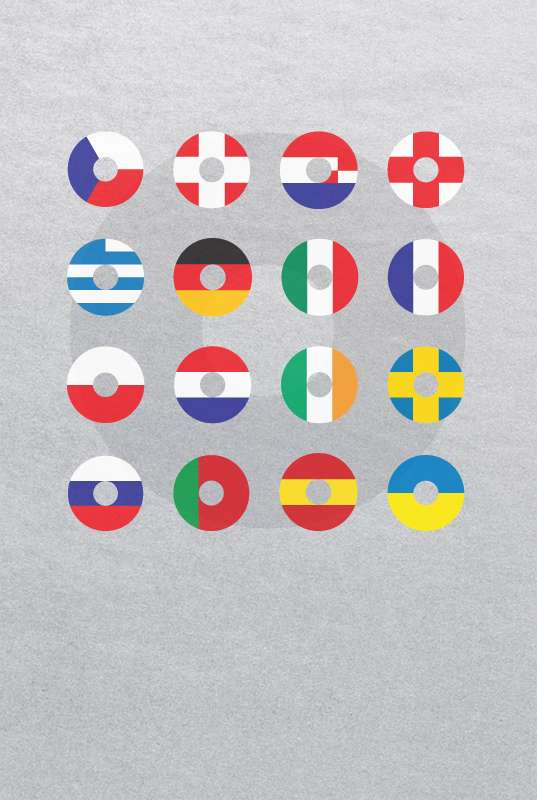 Minimalistic Soccer Posters