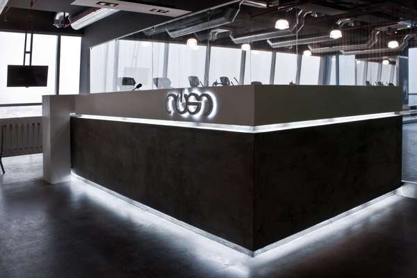 Stylish Workout Centers - Rush Gym Gets an Awesome Interior by