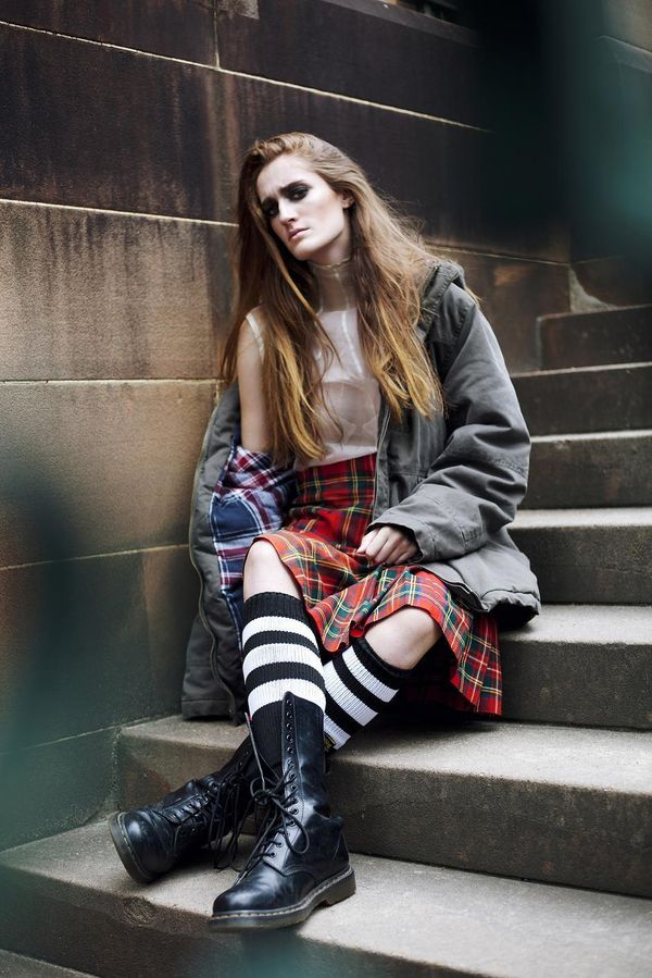 Glam Neo-Punk Photoshoots