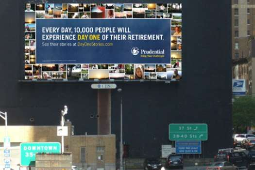 Retirement Photo Billboards