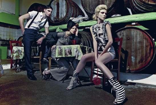 Gritty Glam Fashiontography