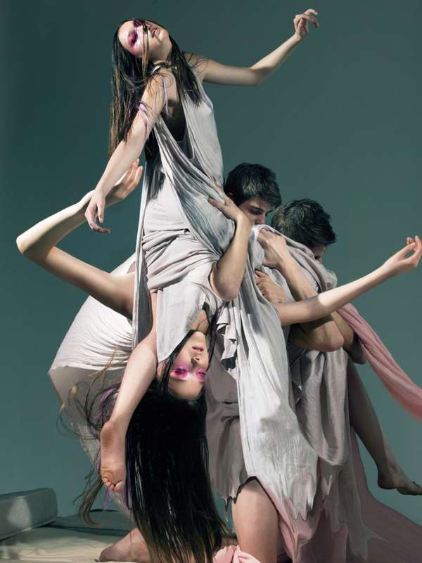 Contemporary Dance-Like Editorials