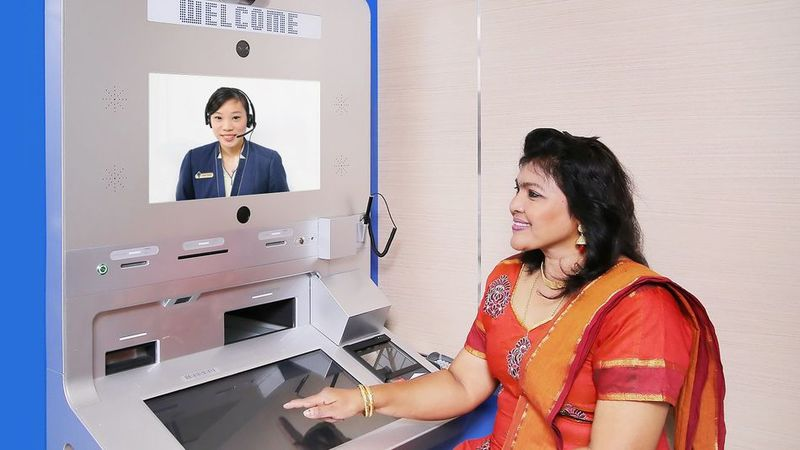 Video Chat ATMs