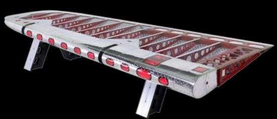 Airplane Wing Table