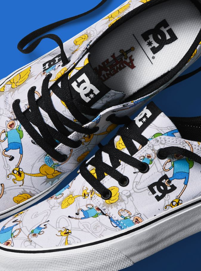 Cartoon-Inspired Skate Shoes