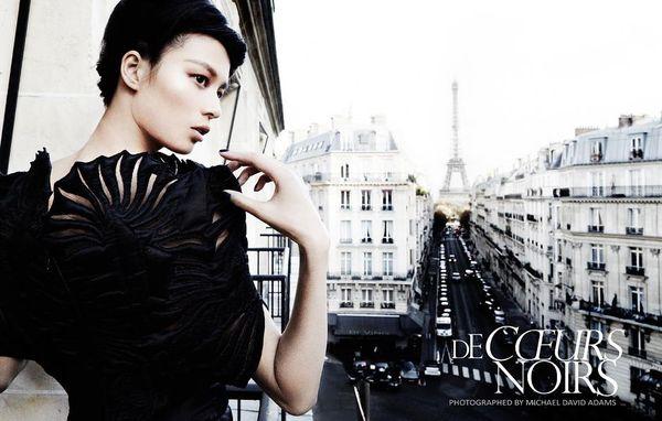Gothic Parisian Photoshoots