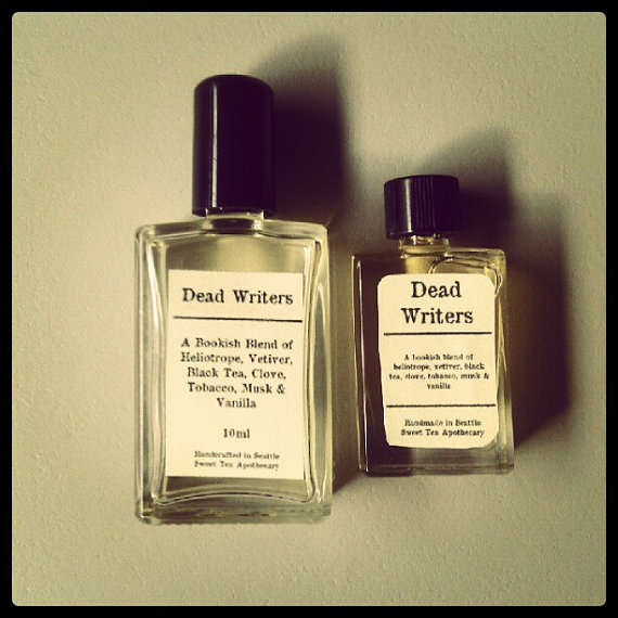 Deceased Author Fragrances